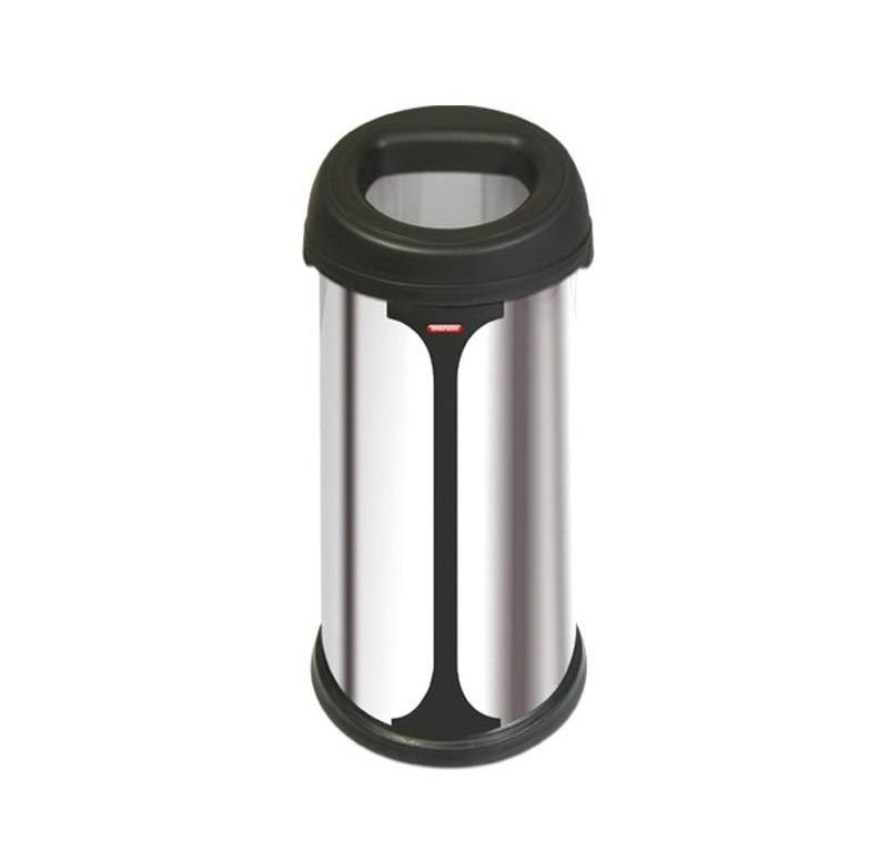 سطل زباله استیل دمپری 50 لیتری - NH100