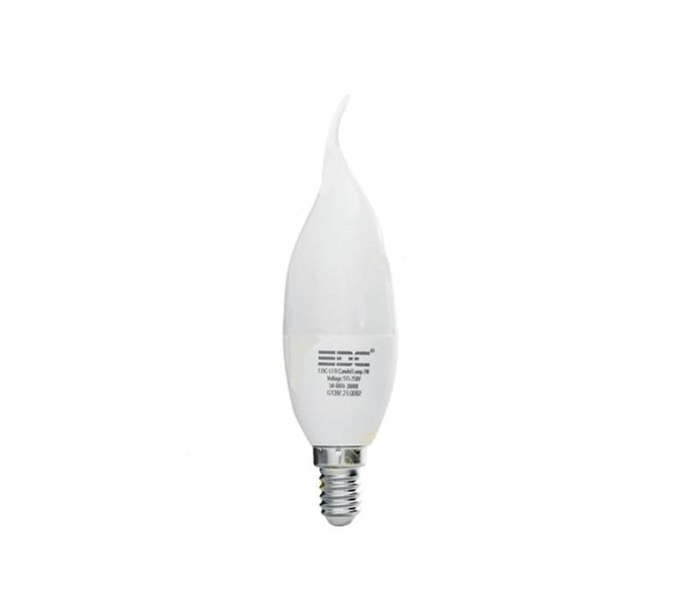لامپ ال ای دی شمعی - 5watt-E14