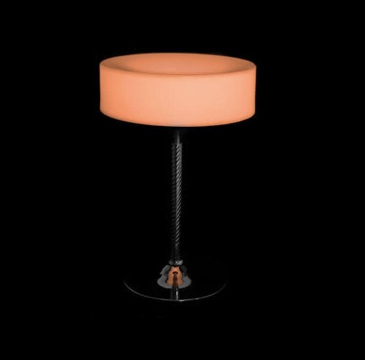 میز نورانی سوآرز مدل سکه ای