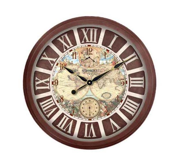 ساعت دیواری چوبی - 6770