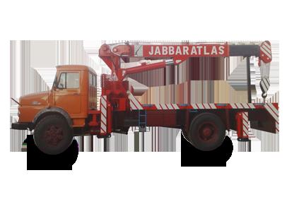جرثقیل تک محور - Super J 10000