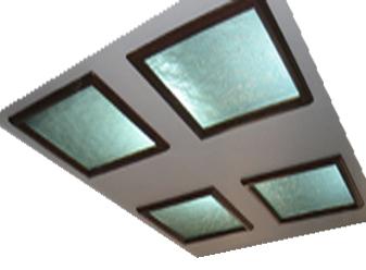سقف شیشه ای - C33