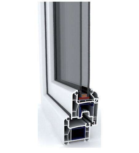 پروفيل پنجره wintech - w640