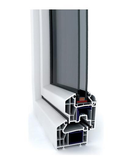 پروفيل پنجره wintech - w700